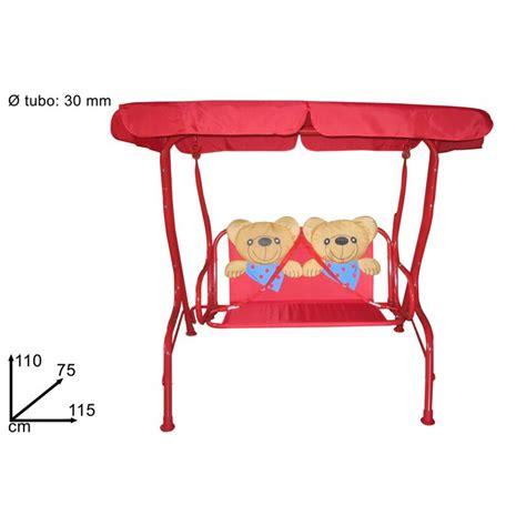 dondolo per bambini da giardino dondolo per bambini modello orsetti