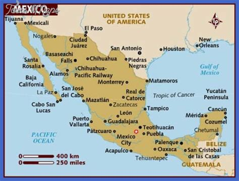 tourist map of mexico mexico map tourist attractions toursmaps