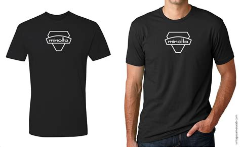 T Shirt Fuji Hitam minolta men s t shirt vintage lab