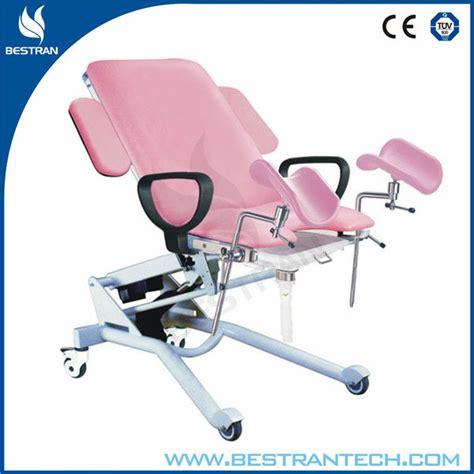 chair with stirrups bt gc006 hospital gynecological stirrups chair buy