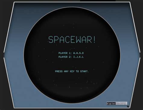 play spacewar dec pdp emulated browser