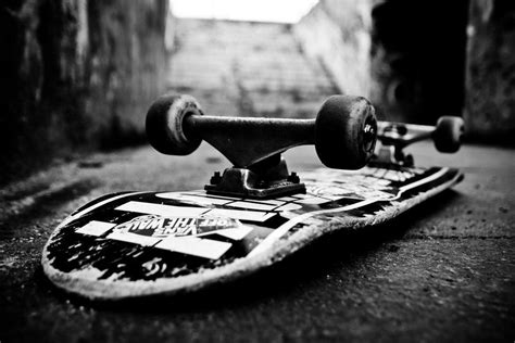 skateboard wallpaper black and white skateboard wallpapers wallpaper cave