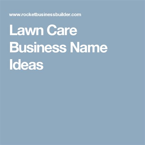 nobby design landscaping business names lawn care slogans