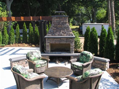 outdoor fireplace gallery