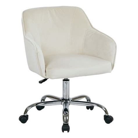 Fabric Office Chairs by Velvet Fabric Office Chair In Oyster Brl26 X12