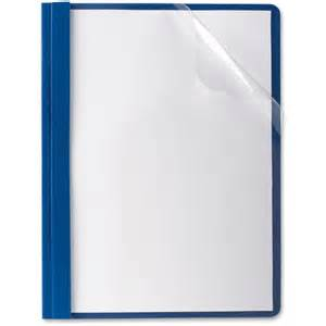 oxford premium clear front report covers oxf58802
