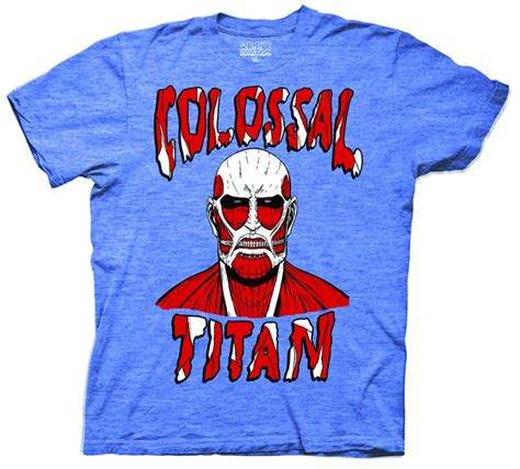 T Shirt Colossal Titan Snk the house of t shirts attack on titan colossal titan t shirt