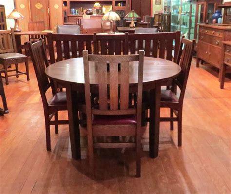 Harvey Ellis Dining Table Set Of 4 Gustav Stickley Harvey Ellis Designed Dining Chairs California Historical Design