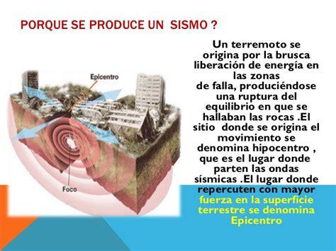los terremotos como se origina que hacer un caso de un terremoto