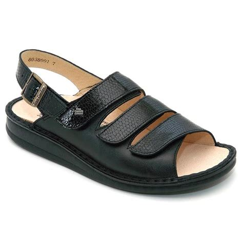 finn comfort sylt finn comfort sylt leather soft footbed black happyfeet com