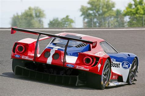 ford gt le mans racecar confirmed to debut at 2016 daytona