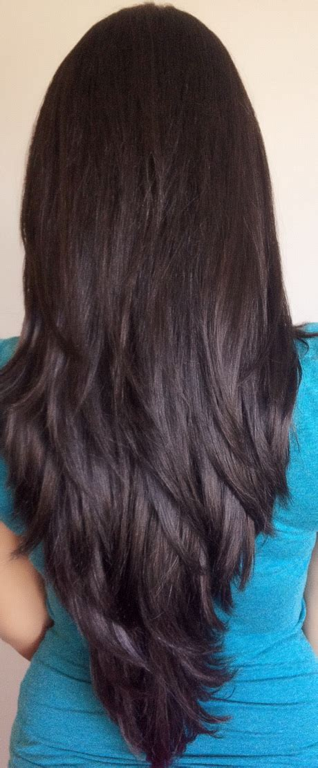 Layer Cut Hairstyle by Layered Haircuts Back View