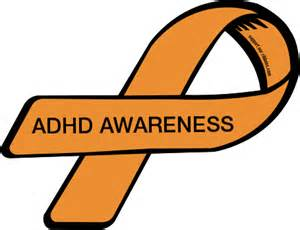 custom ribbon adhd awareness