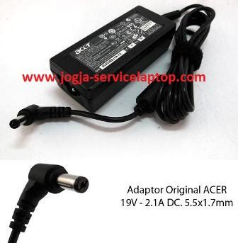 Acer Adaptor For Z1401 19v 2 1a jual adaptor charger acer one 14 z1401 z1402 19v 2 1a