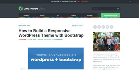 bootstrap blank theme responsive bootstrap themes f 252 r wordpress