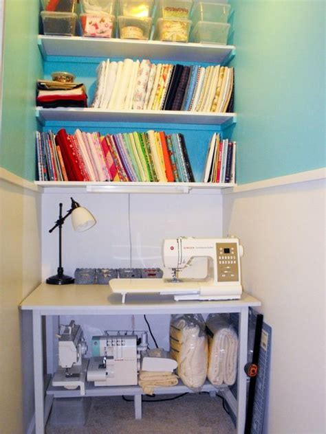Closet Sewing Room by Sewing Spaces Sewing And Walk In Closet On