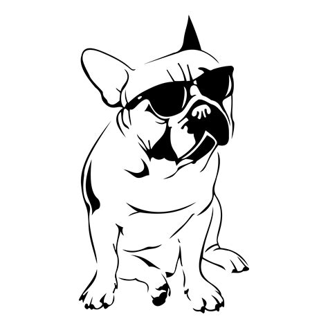 design art files french bulldog design svg dxf eps png cdr ai by