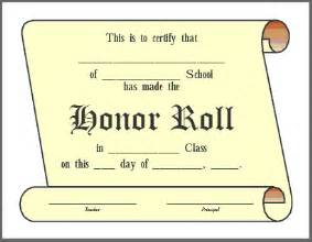 free honor roll certificate template honor roll quotes like success