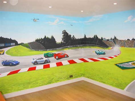 race track wall mural sacredart sports car mural page 2