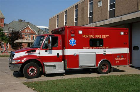 pontiac mi department international ambulance flickr photo