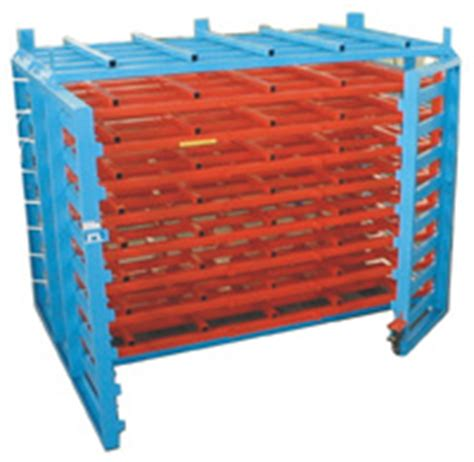 Flange Storage Rack by Roll Out Rack For Sheet Metal A Manufacturer Of Sheet
