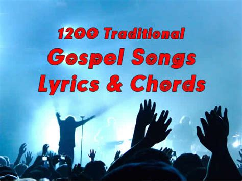 song christian gospel songs with chords start page titles list