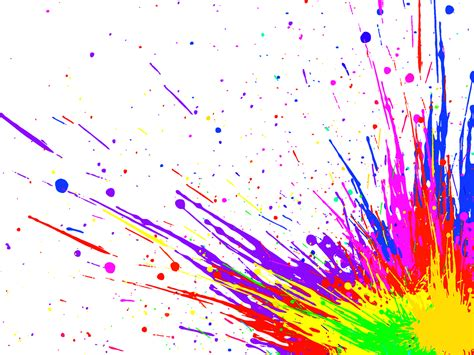 color splatter splatter paint paintsplatter colorsplash splash rainbow