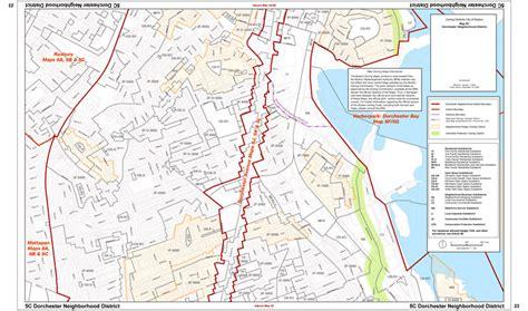 Dorchester District 2 Calendar Zoning Maps Boston Planning Development Agency