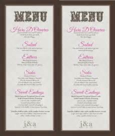 wedding menu buffet menu diy print wedding and inspiration wedding