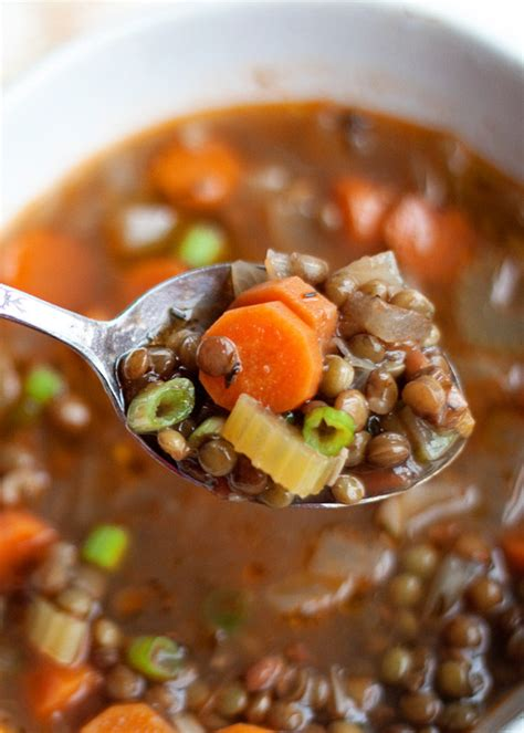 easy vegetable soup recipe for image gallery lentils and vegetables recipe