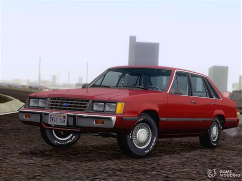 how to work on cars 1986 ford ltd user handbook ford ltd lx 1986 for gta san andreas