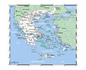 maps of greece detailed map of greece in