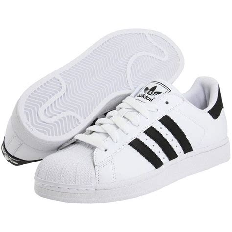 adidas shoes flat adidas originals superstar 2 75 liked on polyvore