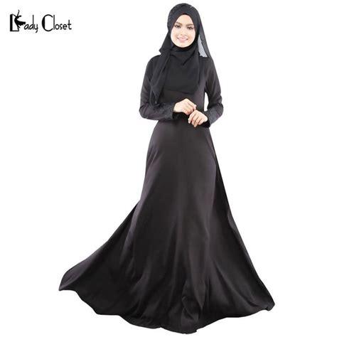 Jilbab Pricilla L Black White Wholesale Turkish Clothing Muslim Abaya Dress