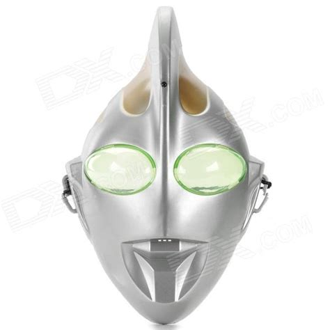 Topeng Pdt Led Mask 7in1 506 plastic talking ultraman mask silver free shipping dealextreme