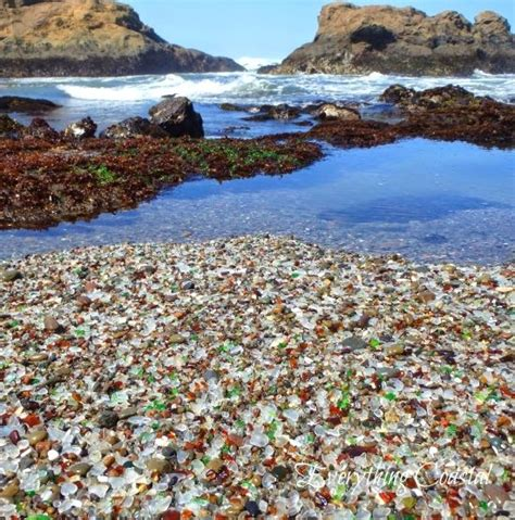 glass beach disappearing in ft bragg grindtv the best sea glass beaches in the united states