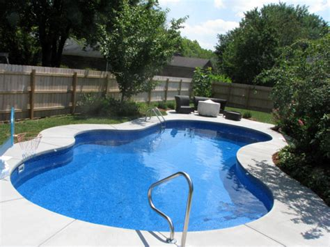 Backyard With A Pool Backyard Pools Inc