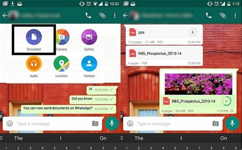 send whatsapp link to mobile whatsapp included send document chat feature in the