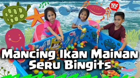Dijamin Fishing Toys Mainan Anak Ikan vlog mancing ikan mainan anak fishing toys for therempongshd
