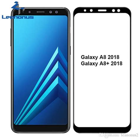 Glass Colour Samsung A8 2 5d arc tempered glass screen protector for samsung