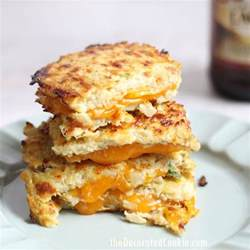 Cauliflower Grilled Cheese by Grilled Cheese With Cauliflower Bread The Decorated Cookie