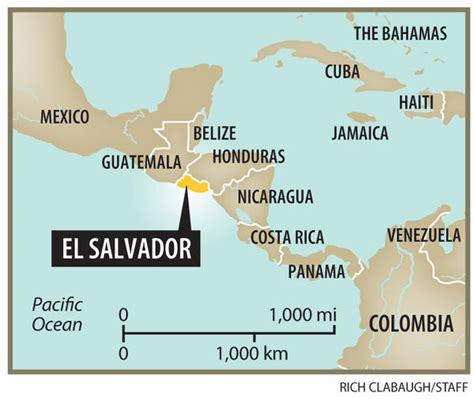 america map el salvador worldly rise february 2014