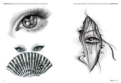 tattoo flash realistic eyes