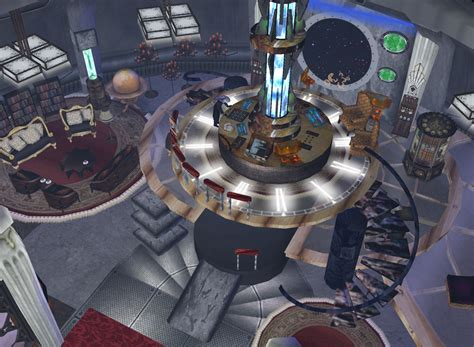 12th Doctor Tardis Interior by The 12th Doctor S Tardis By Ghostrider2007 On Deviantart