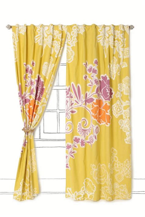 Bright Yellow Curtains 130 Best Images About For The Home On Casablanca Dhurrie Rugs And Dining Rooms