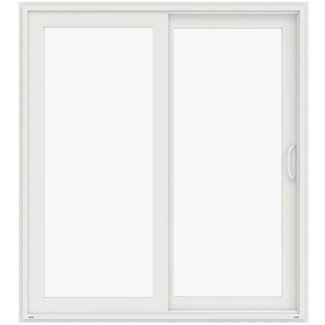 Prehung Patio Doors Masterpiece 72 In X 80 In Composite Left Dp50 Sliding Patio Door G60ldp50 The Home Depot