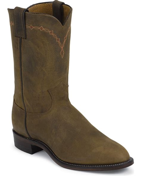 ropers boots justin bay apache classic roper boots toe