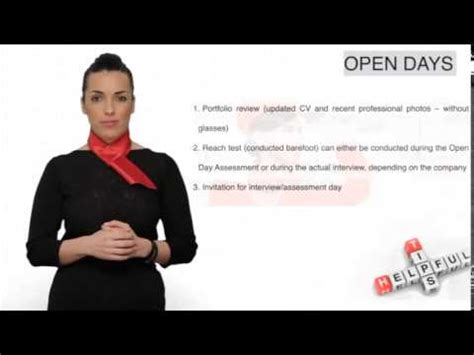 How To Prepare For A Cabin Crew by Cabin Crew Tips Open Assessment Days