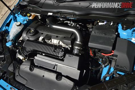 2013 volvo v40 t5 2 5t five cylinder engine
