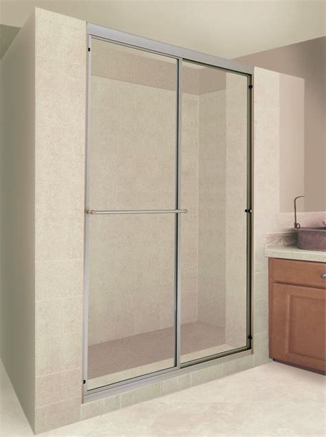 kit cabinets chandler az delta 48 quot to 60 quot traditional sliding shower door track
